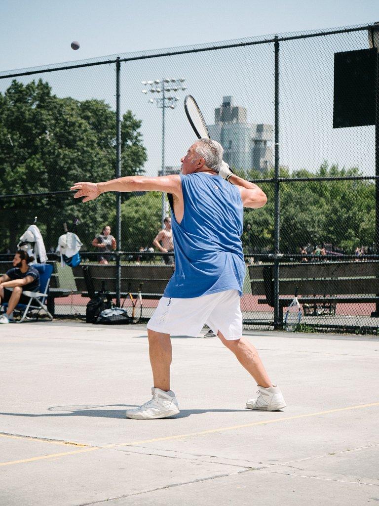 Racquetball in McCarren Park