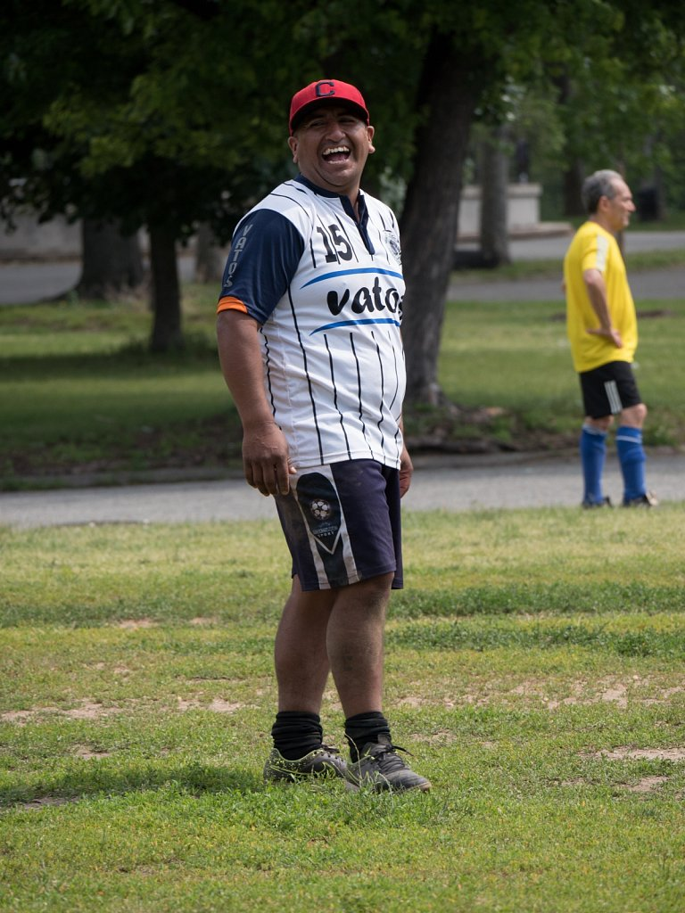 Soccer in Corona Park